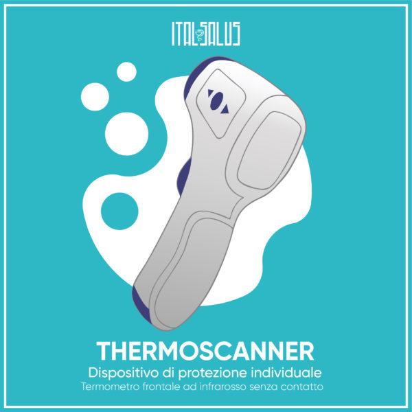 disegno di thermoscanner ad infrarossi senza contatto