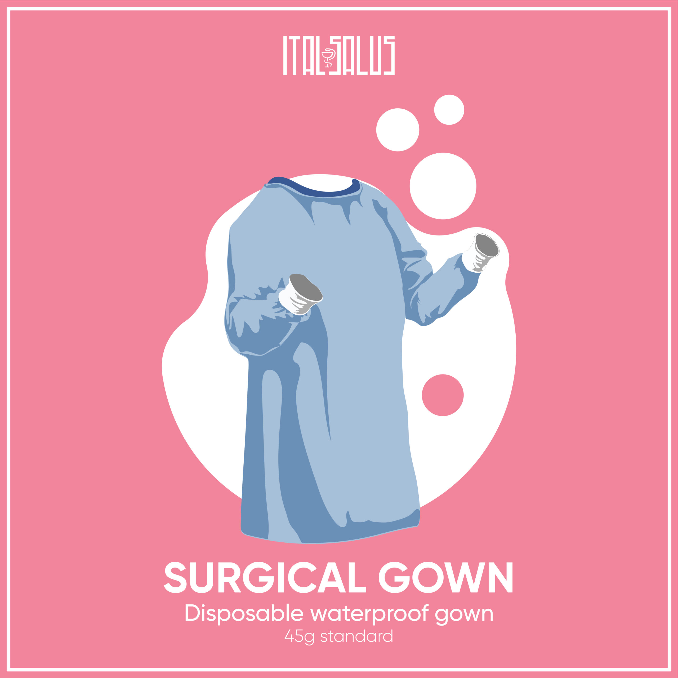 surgical gown draw 45g