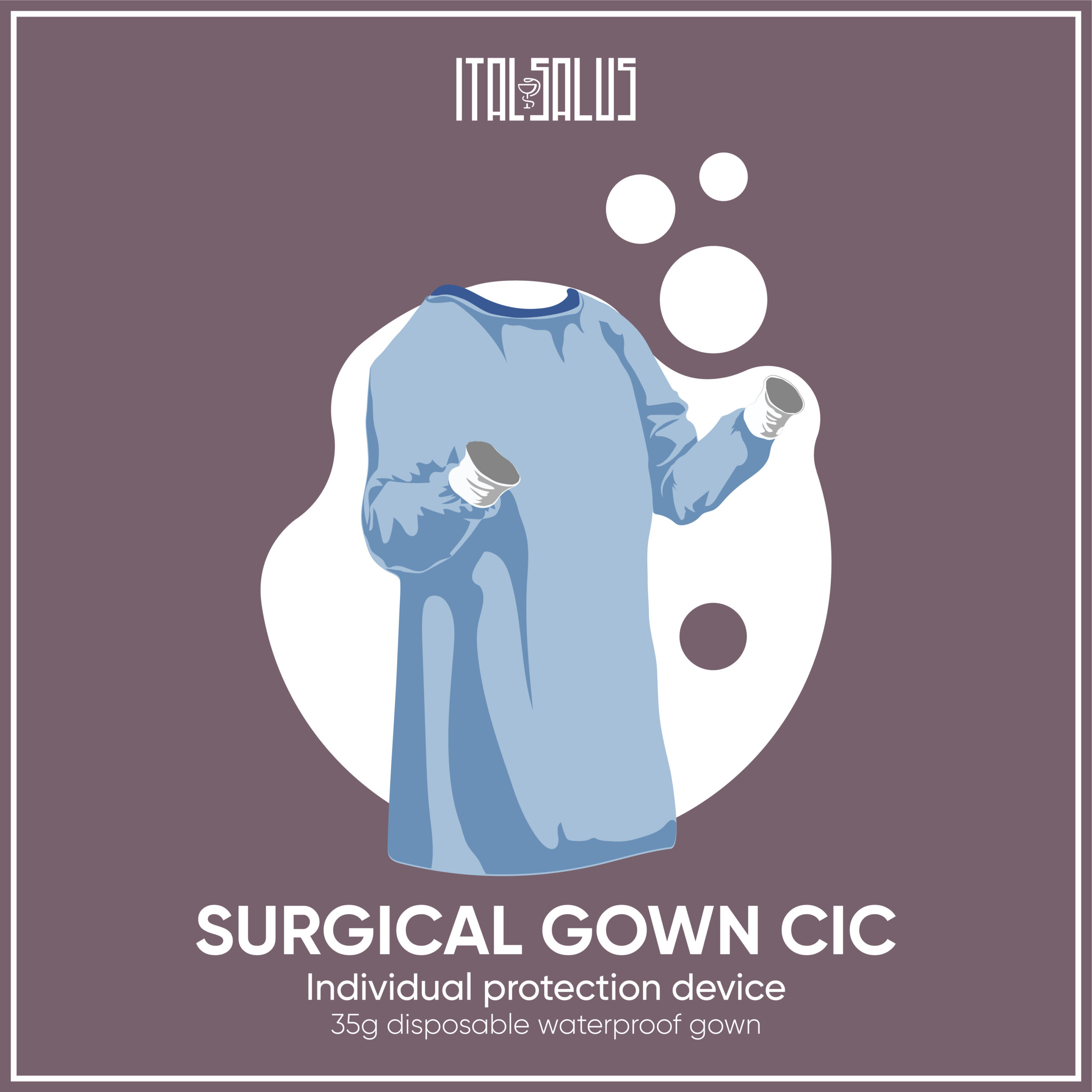 surgical gown cic draw
