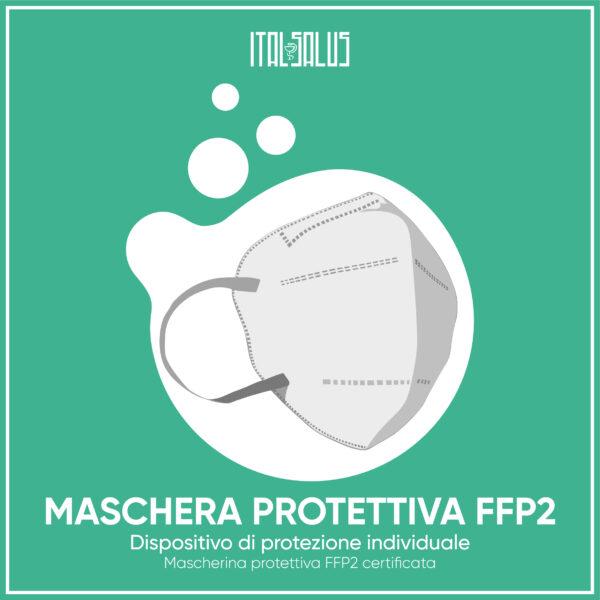 disegno di mascherina protettitva FFP2 GABG