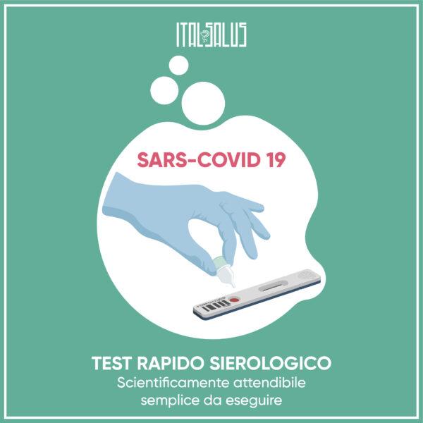 disegno test Sierologico sars covid 19